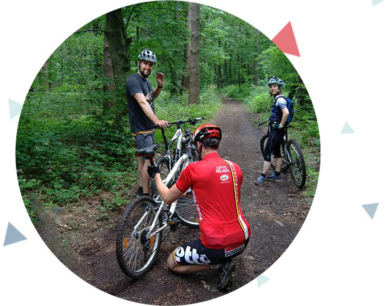 Team event mountainbike