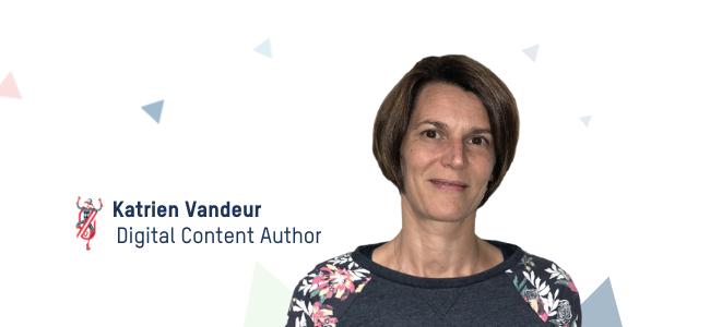 Digital Content Author Katrien Vandeur